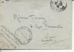 """35 Saint-Jacques-de-la-lande FM""""61°régt D'artillerie *FM* / 27 Dec 1915"""