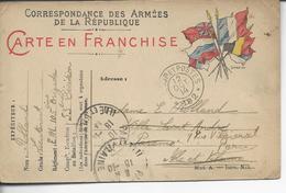 """Cpfm Mod;A """"trésor Et Postes*192* état-major De La 105  )brigade 53°division >> Paramé"""