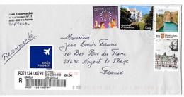 Belle Lettre De 2016 A Destination De France - 1910-... República