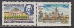 USSR 1955 - Moskauer Universitaet, Mi-Nr. 1780/81A, MNH**