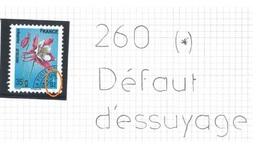 Préo 260 (*) - Variété Moderne Défaut D'essuyage