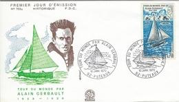 France Fdc. Tour Du Monde Par Alain Gerbault 1923-1929.    H-972