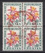 FRANCE 1964 / 1971 -  BLOC DE 4 TT - Y.T. N° 100  - OBLITERES - FD561