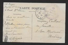 Haute Vienne - Cachet  Croix Rouge Française - COMITE De DORAT - Guerre De 1914-18