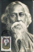 17677 RUSSIA Maximum 1980 Rabindranath Tagore,  (vintage Card)