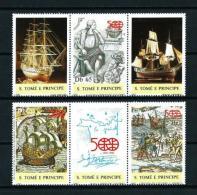 St Tomé Y Principe  Nº Yvert  884/6  En Nuevo