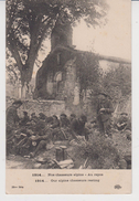 CHASSEURS ALPINS  /  Nos Chasseurs Alpins - Au Repos,1914 - Régiments
