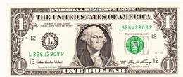 Federal Reserve Note, One Dollar 2006 California FDS - Billetes De La Reserva Federal (1928-...)