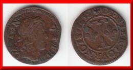 **** DOMBES - DENIER-TOURNOIS 1652 GASTON D'ORLEANS **** EN ACHAT IMMEDIAT !!! - 476-1789 Monnaies Seigneuriales