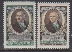 USSR 1955 - F. Schubin, Mi-Nr. 1795/96, MNH**