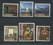 ZAMBIA    1968    Decimal  Currency   6 Values    USED - Zambia (1965-...)