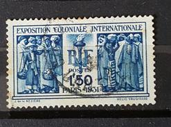YT274 - Exposition Coloniale Internationale 1931 -1fr50c - Oblitéré