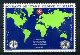 1992 SMOM SERIE COMPLETA MNH** N.415 - Sovrano Militare Ordine Di Malta