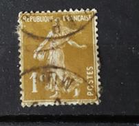 YT277A - Type Semeuse -  1c Olive -oblitéré