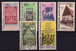 TCH 112 -TCHECOSLOVAQUIE N° 1567/74 Neufs Art Historique Juif - Tschechoslowakei/CSSR