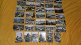 LOT DE 36 CARTES POSTALES SEMI MODERNE DIVERS FRANCE CIRCULEES ET NON CIRCULEES. DATE ?. - Cartes Postales