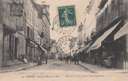 24 - RIBERAC - Rue De L'Hôtel De Ville - Riberac