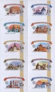 SALE! Russia 2014 Mi. 1592/1601 Definitive Russian Kremlins (issue 2014) (M/S) MNH **