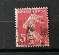 YT278B - Type Semeuse -  5c Rose -oblitere