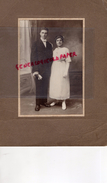 87 - SOLIGNAC - RARE PHOTO SUR CARTON EPAIS  MME ROUILHAC - Personnes Identifiées