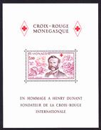 RED CROSS / CROIX ROUGE - Hommage A Henri Dunant, Monaco 1978  // MNH**
