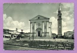 Crespano Del Grappa - Piazza S. Marco E La Classica Fontana - Treviso