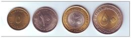 SUDAN - 2006 - 5+10+20+50 Piastre 4 Monete FDC - Sudan