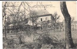 POSTAL   CHAMBÉRY  -FRANCIA  -LES CHARMELLES -MAISON DE J. ROUSSEAU - Chambery