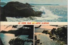 Le Soir Sur La Cote D Azur