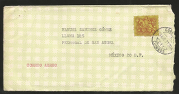 J)1971 PORTUGAL, EQUESTRIAN SEAL OF KING DINI, AIRMAIL CIRCULATED COVER, FROM PORTUGAL TO MEXICO