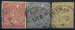#17-01-00573 - North German Confederation - 1856 - Mi. 4-6 - US - QUALITY:100%