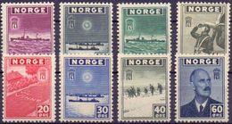 Norwegen Mi. 276-283 ** - Ansehen!!