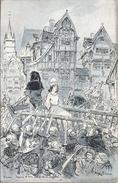 REIMS    JEANNE D'ARC  CONDUITE AU SUPLICE    VOIR PUB VERSO - Femmes Célèbres