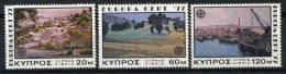 #17-01-05372 - Cyprus - 1977 - Mi. 464-466 - MNH - QUALITY:100% - CEPT