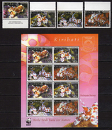 Kiribati 2005 WWF - Marine Fauna.Harlequin Shrimp.S/S And Stamps.MNH - Kiribati (1979-...)