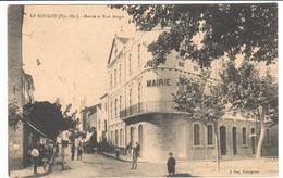 POSTAL   LE BOULOU  - FRANCIA  - AYUNTAMIENTO Y CALLE ARAGON  ( MAIRIE ET RUE ARAGO ) - Francia