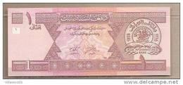 Afghanistan - Banconota Non Circolata Da 1 Afghani - 2002 - Afghanistan