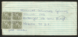 J)1971 PORTUGAL, EQUESTRIAN SEAL OF KING DINI, AIRMAIL CIRCULATED COVER, MULTIPLE STAMPS, FROM PORTUGAL TO MEXICO