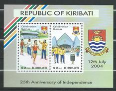 Kiribati 2004 The 25th Anniversary Of Independence.S/S.Coat Of Arms.MNH - Kiribati (1979-...)