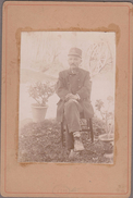 Facteur Des Postes En Uniforme... 1897 Animé (photo/carton 11x16,5) - Berufe