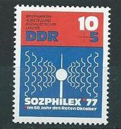 DDR  1976  Mi 2170  Internationale Briefmarkenausstellung SOPHILEX