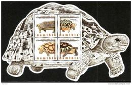 Namibia - 2016 - Tortoises Of Namibia - Mint Souvenir Sheet