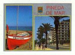 Cpm N° 3 PINEDA DEL MAR Divers Aspects - Barcelona