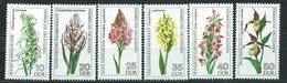 DDR  1976  Mi 2135 - 2140  Heimische Orchideen