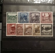 Austria, 1923, Mi: 433/41 (MNH)