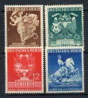 #17-02-05045 - Reich - 1941 - Sass. 768-771 - MNH - QUALITY:100% - Culture Art