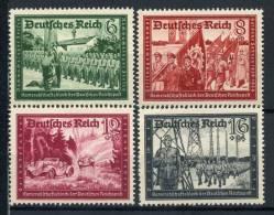 #17-02-05050 - Reich - 1941 - Sass. 773-776 - MNH - QUALITY:100% - Postkameradschaft