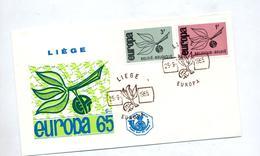 Lettre Fdc 1965 Europa