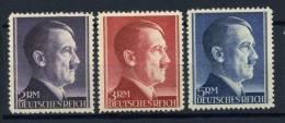 #17-02-05071 - Reich - 1942 - Sass. 800-802 - MNH - QUALITY:100% - Adolf Hitler.