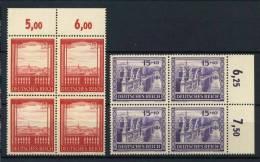 #17-02-05076 - Reich - 1941 - Sass. 804-805 - MNH - QUALITY:100% - Quartine Block Of Four, Wiener Messe